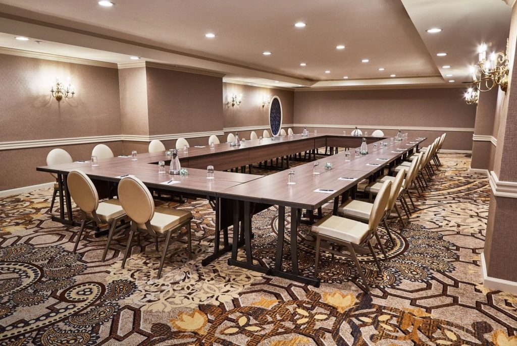Area Meeting Room Hotel Adolphus di Dallas, USA